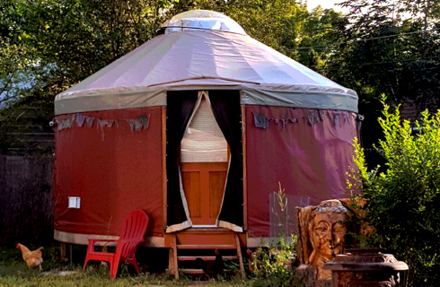 Did I Mention I Live in a Yurt?